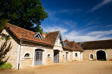 Castle in the French Charente