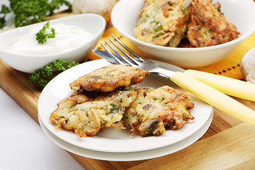 chicken cutlets with mushroom
