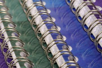 cahier à spirales d'écolier