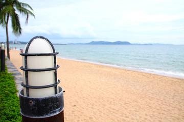Lamp on the Beach