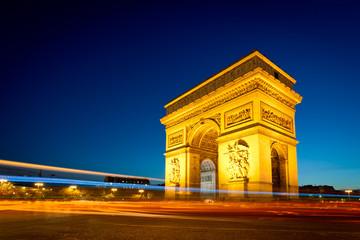 Wall Mural - Arc de Triomphe Champs Elysées Paris France