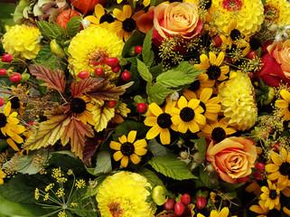 Blumenstrauß, gelb