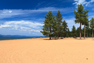 Wall Mural - Nevada Beach, Lake Tahoe