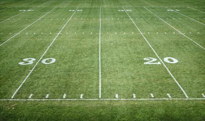 American Football Field horizontal