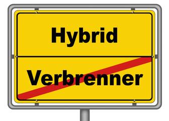 Hybrid Verbrenner