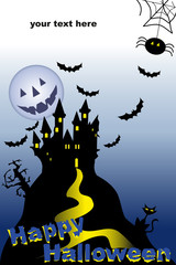 Halloween Night cartolina