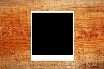 Wooden background of the harvest with frame
