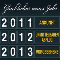 Bonne année Allemand