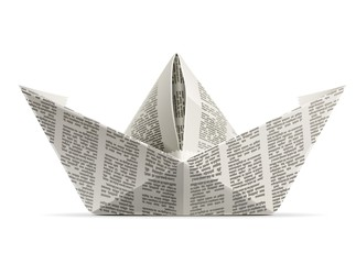 paper ship origami
