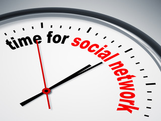 time for social network