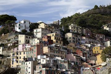 Village de Riomaggiore - Cinque Terre - Iitalie