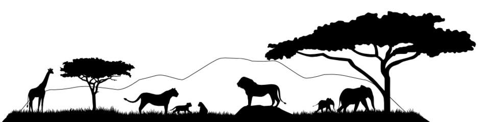 Malvorlagen Afrikanische Landschaft | My blog