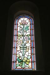 Photo sur Plexiglas Vitrail Paris14 - Église Notre-Dame-du-Travail