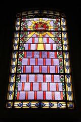Photo sur Plexiglas Vitrail Paris15 - Eglise Saint-Jean-Baptiste de Grenelle