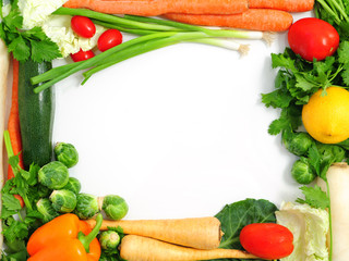 Vegetable Frame