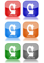 """Analysis  """"6 buttons of different colors"""""""