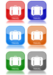 """Travel  """"6 buttons of different colors"""""""