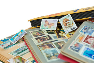 Post stamps albums