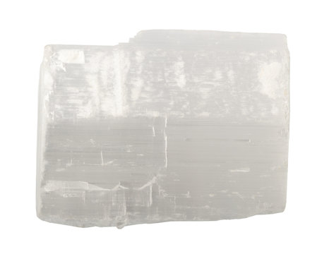 Mineral collection: selenite.