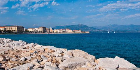 Panorama Ajaccio Korsika