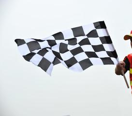checkered racing flag