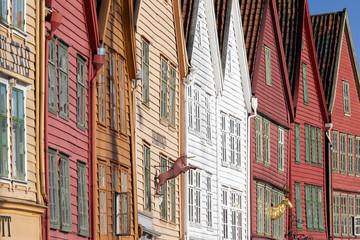 Bergen - Bryggen - Norwegen - Norway