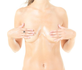 Closeup Tempting Nudity