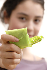 femme serviette hygiénique