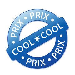 """Tampon """"PRIX COOL"""" (soldes promos fou futé choc offre spéciale)"""
