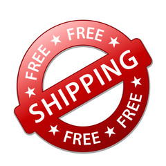 """FREE SHIPPING"" Marketing Stamp (home express delivery service)"