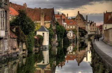 Wall Murals Bridges Travel in Brugge