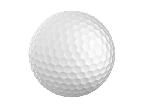 Golf Ball With Neon Light