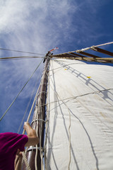 Setting the sails