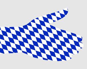 Bayerischer Handschlag