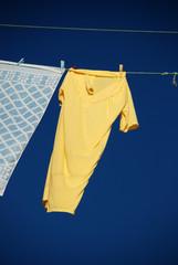 Drying T-shirt