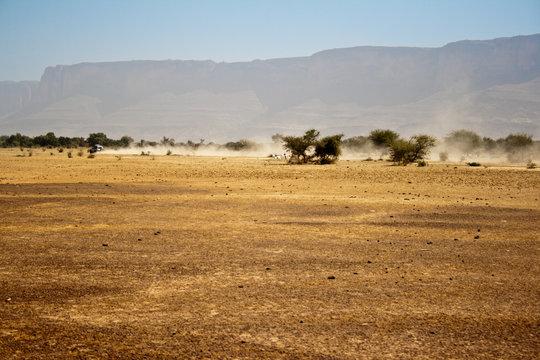 Semi-desert region of Mali.