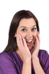 Lovely Surprised Girl