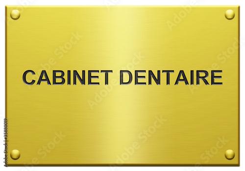 cabinet dentaire plaque grav e photo libre de droits sur la banque d 39 images. Black Bedroom Furniture Sets. Home Design Ideas