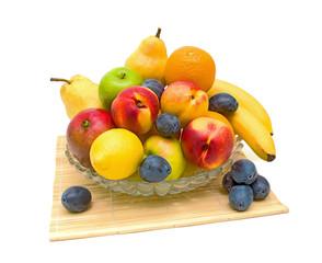 still life of fresh fruit
