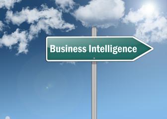 "Signpost ""Business Intelligence"""