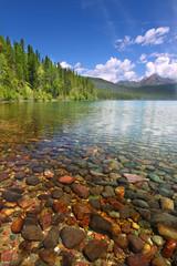 Fototapete - Kintla Lake - Glacier Park