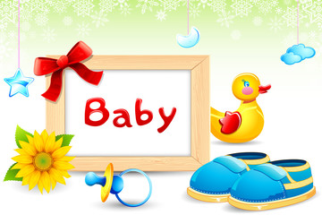 Photo Frame with Baby item