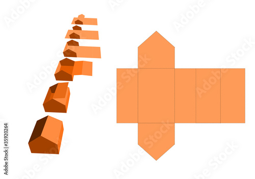 Haus Aus Papier Stock Image And Royalty Free Vector Files On
