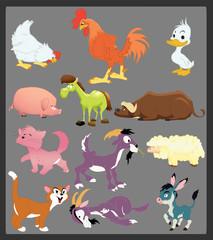 cartoon farm animal