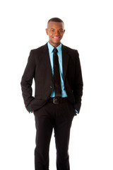 Happy Executive corporate business man