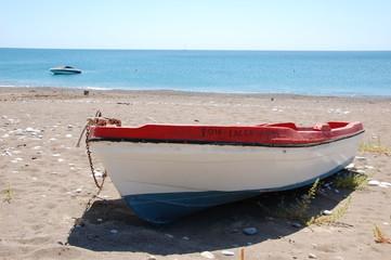 Barca in solitudine
