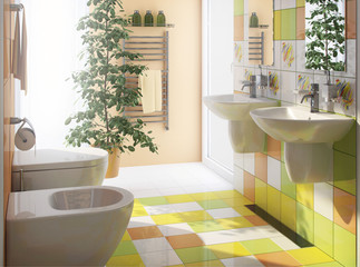 bath wc interior design
