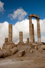Tempio di Ercole di Amman da vicino