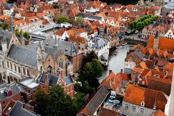 Door stickers Bridges Brugge