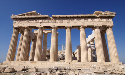 Parthenon ancient Greek temple